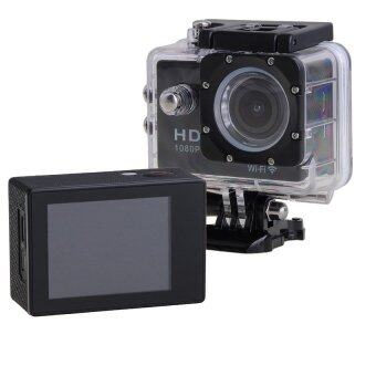 Wifi Action Digital Camera 12Mp Full Hd 1080P 30Fps 2.0Inch LcdDiving 30M Waterproof Sport Dv - intl
