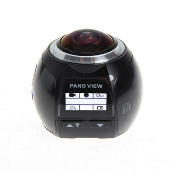 Wifi Panoramic Camera Ultra HD 360 Sports DV(Black) - intl