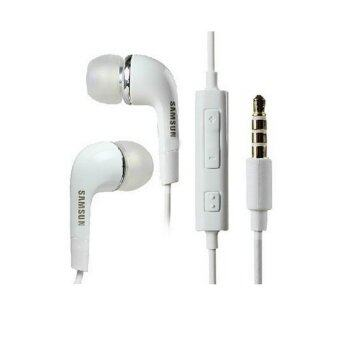 Wired In-Ear Noise Cancelling Headphones for Samsung Galaxy S5 S4 S3 Note3 (White)