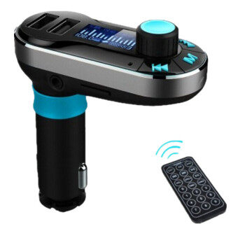 Wireless Bluetooth FM Transmitter MP3 Player Car Kit Charger for iPhone 3-piece Set (Silver)