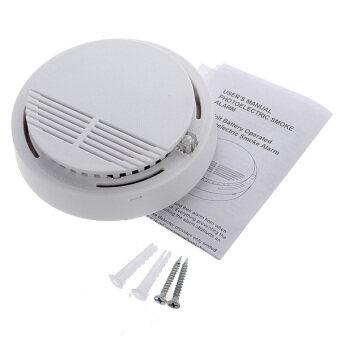 wireless cordless smoke detector home security fire alarm sensor system battery intl lazada. Black Bedroom Furniture Sets. Home Design Ideas