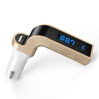 Wireless In-Car Bluetooth FM Transmitter for iPhone, Samsung, LG, HTC, Nexus, Motorola, Sony Android Smartphone