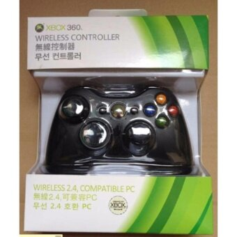 Wireless USB Handle Controller for Microsoft Xbox 360 Console PCComputer Video Game PC Compatible-Black - intl