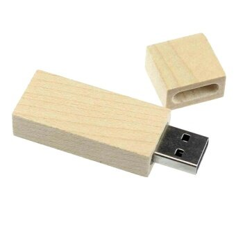 Wooden 4GB Long Wood High Speed USB2.0 Flash Storage Drive MemoryStick