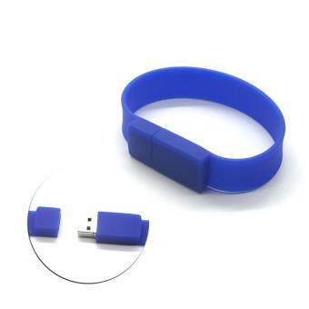 Wrist Bracelet USB Flash Drive 16GB USB 2.0 pen drive_blue