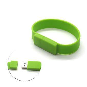 Wrist Bracelet USB Flash Drive 16GB USB 2.0 pen drive_green