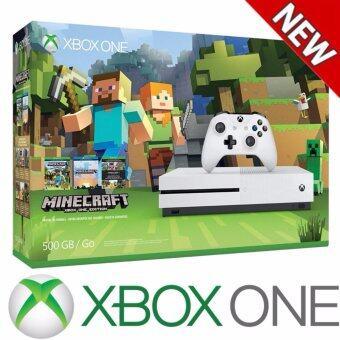 Xbox One S 500GB Console - Minecraft Bundle - intl