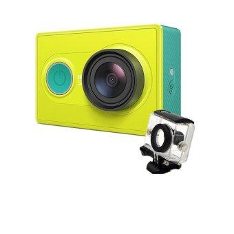 Xiaomi Yi Action Camera ( Green ) + Waterproof Case (สีดำ)