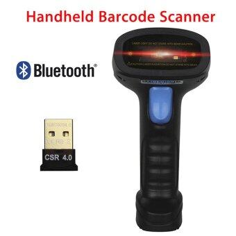 YACGroup Bluetooth4.0 USB Wireless Handheld Laser Barcode POS ScanBar Code Scanner Reader 1D/2D Scanning For Supermarket - intl
