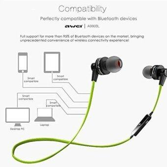 YBC Wireless Bluetooth Headphone Sweatproof Earphone with Mic for iPhone 7 Plus/Samsung S7 - intl
