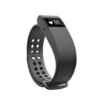 YOCHO New Smart Heart Rate Sensor Bluetooth 4.0 Watch Wristband Fitness Tracker For samsung Android Apple Iphone(Black) - Intl