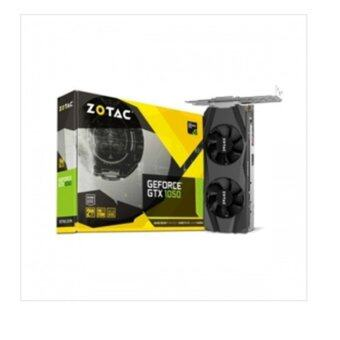 [ ZOTAC] GF GTX 1050 2G LP GDDR5 Graphic cards / 4K resolution support / 128-bit - intl