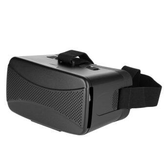ZUNCLE 3D VR Glasses Virtual Reality Headset for 3.5 to 6 inch Smartphone (Black) - intl