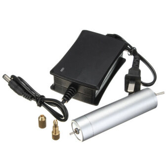 มินิจิ๋วชักยึดสว่านไฟฟ้าอะลูมิเนียมสำหรับ 0.8 อะ 1.5มมบิด+เครื่องสำรองไฟ