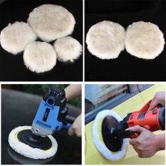10 Pc Wool Buffing Pad Car Detailing Polishing Velcro Backing Buffer 125mm - Intl ราคา 642 บาท(-50%)