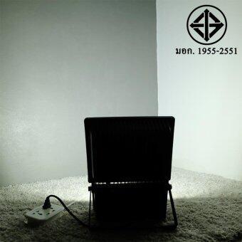 สปอตไลท์ 100W เสียบปลั้ก ใช้ได้เลย (220 V.)(แสง:ขาว)