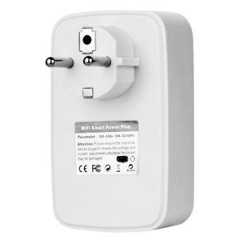 10A / 200W Wi-Fi Smart Wall Power Plug w/ USB Port - White (EU Plug) - intl