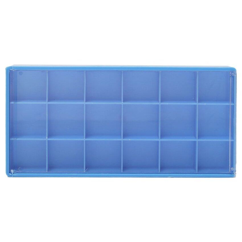 18 Grid Box Case Container Storage For Tiny Jewelry Watch Fitting Screws