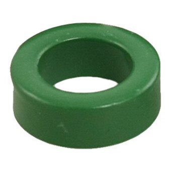 22mm x 14mm x 8mm Power Transformer Ferrite Toroid Cores Green 10 Pcs