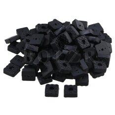 2.2x2.2x0.9cm Square Rubber Foot Pads For Furniture Set Of 100 Black - Intl ราคา 551 บาท(-50%)