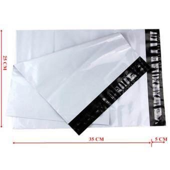 ซองไปรษณีย์พลาสติกสีขาว ขนาด 25x35 cm (1000 ใบ)