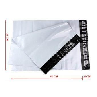 ซองไปรษณีย์พลาสติกสีขาว ขนาด 32x45 cm (50 ใบ)