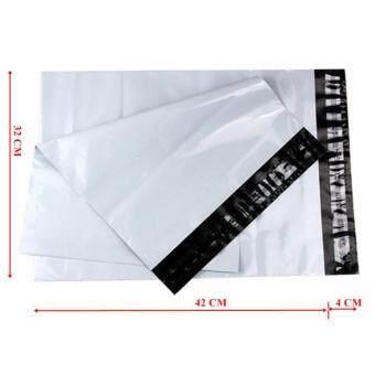 ซองไปรษณีย์พลาสติกสีขาว ขนาด 32x45 cm (500 ใบ)