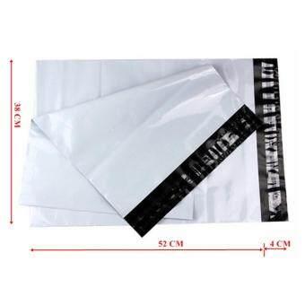 ซองไปรษณีย์พลาสติกสีขาว ขนาด 38x52 cm (250 ใบ)
