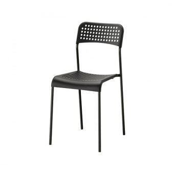 อ็อดเด เก้าอี้นั่งกินข้าว สีแดง ขนาด 39x47x77 ซม.