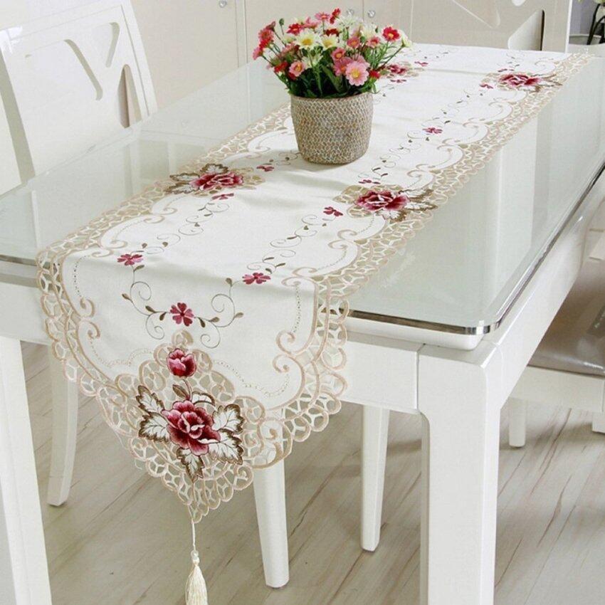 40 x 246cm Polyester Rectangle Table Runner (Intl)
