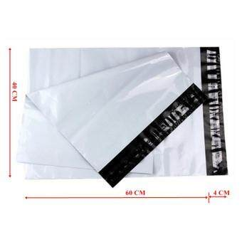 ซองไปรษณีย์พลาสติกสีขาว ขนาด 40x60 cm (1000 ใบ)