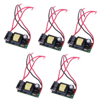 5 x AC 85-265V (4-7) x 1W Power Constant Current Source LED Driver