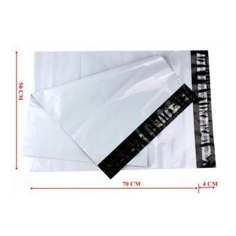 ซองไปรษณีย์พลาสติกสีขาว ขนาด 50x70 cm (250 ใบ)