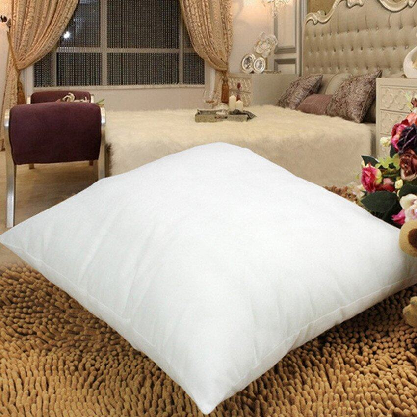 550g White Cotton Throw Hold Pillow Inner Pads Inserts Fillers Home Bed Sofa Cushion  -  ...