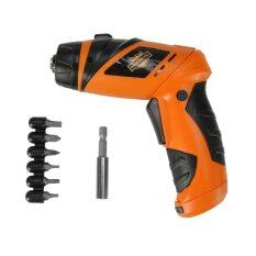 6V Screwdriver Battery Operated Cordless Wireless Mini Electric Screw Driver Tool โปรโมชั่น