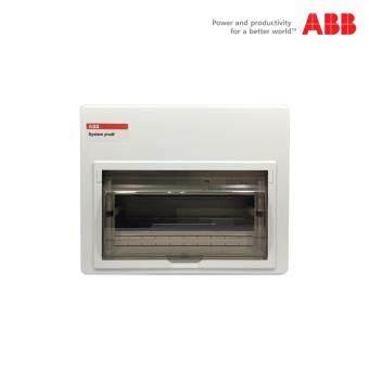 ตู้เบรกเกอร์ (คอนซูมเมอร์) ABB ขนาด 10 ช่อง พร้อมอุปกรณ์