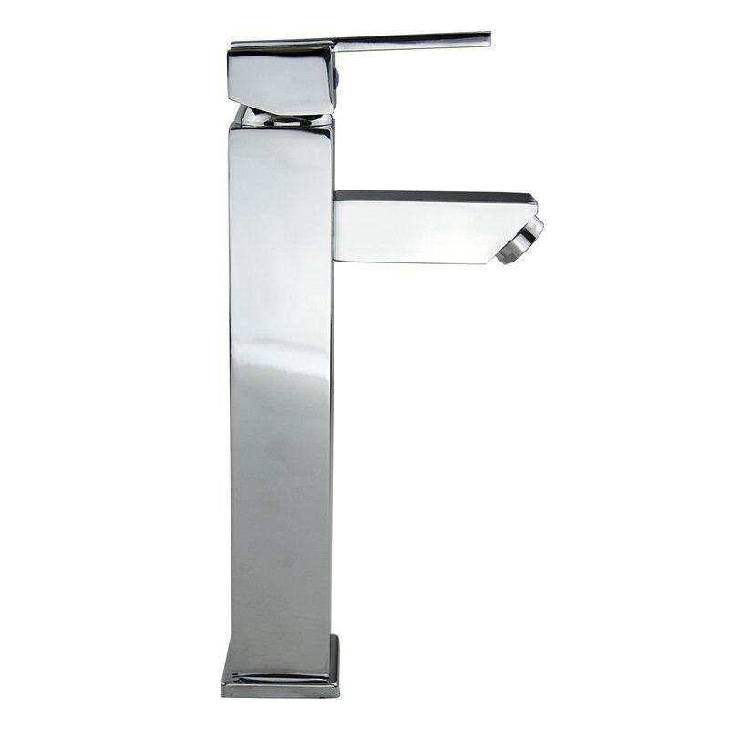Bathroom Basin Mixer Taps Sink Faucet Chrome Surface (Intl)