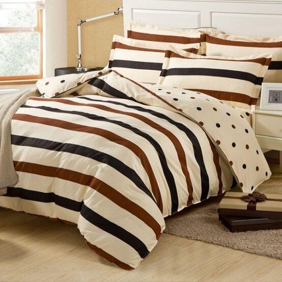 Bedding Cheap ผ้าปูที่นอน ชุดผ้านวม 6 ฟุต 6 ชิ้น ลายOther 005