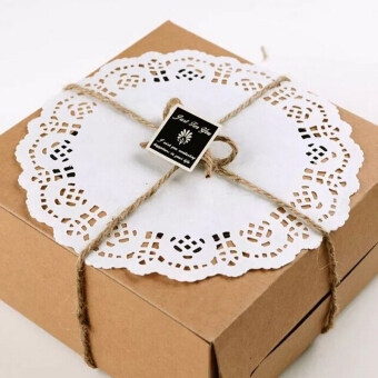 "Black Horse Useful Cake Use 50 pcs/lot 6.5"" White Paper Lace Doilies Cardmaking Decoration Doily Favors -white - intl"