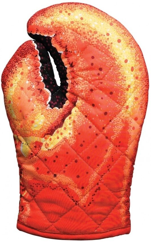 Boston Warehouse Trading Corp Lobster Claw Oven Mitt