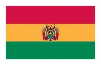 Brand New Comfortable Bolivia National Flag Blanket size: 130cm x 150cm - intl