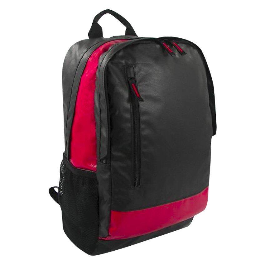 กระเป๋าสะพายหลัง CA-Terminal 14 Laptop Backpack สีดำแดง ...