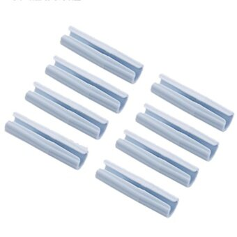 Creative Useful Multipurpose 8pcs Bed Sheet Fasteners MattressHolder Clip Bed Sheet Grippers Tool - intl