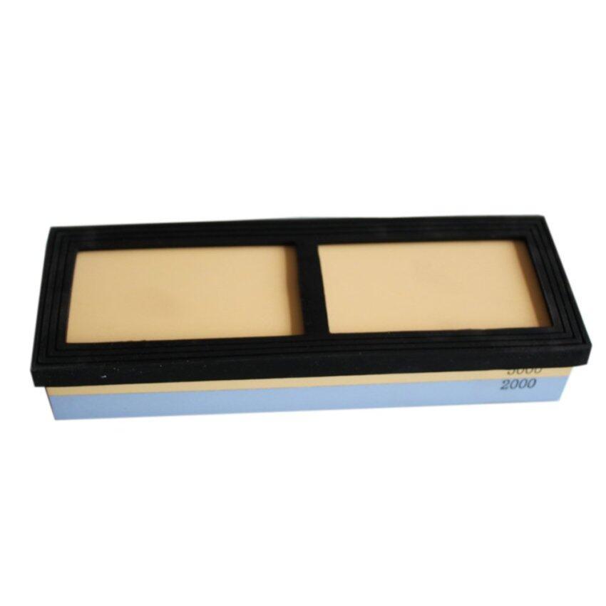 Durable 1x Dual Head Whetstone 2000/5000 18x6.4x3.1cm random color Sharpening Stone Polishing Tool (Intl)