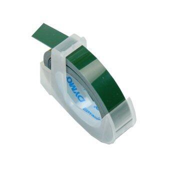 Dymo เทปปั๊มอักษรนูน ผิวมัน ขนาด 9 มม.x 3 ม. - สีเขียว (แพ็ค 3 ม้วน)