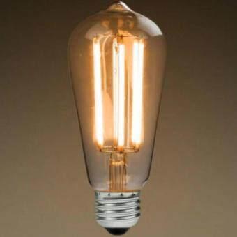 E27 LED Filament Light Bulb Lamp 4W Vintage Retro Edison Style Warm White 2700K (Intl)