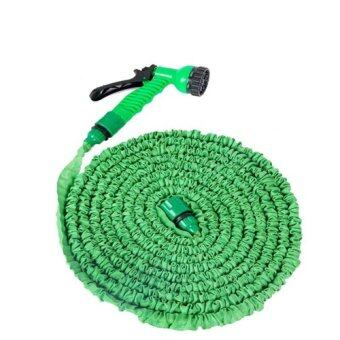 Elastic Hose สายยางยืดหด 22.5M/75FT Automatically EXPANDS andContracts (Green)