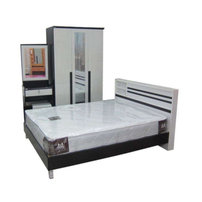ENZIO ชุดห้องนอน รุ่น BROOKE 6 ฟุต รุ่น BROOKE-6