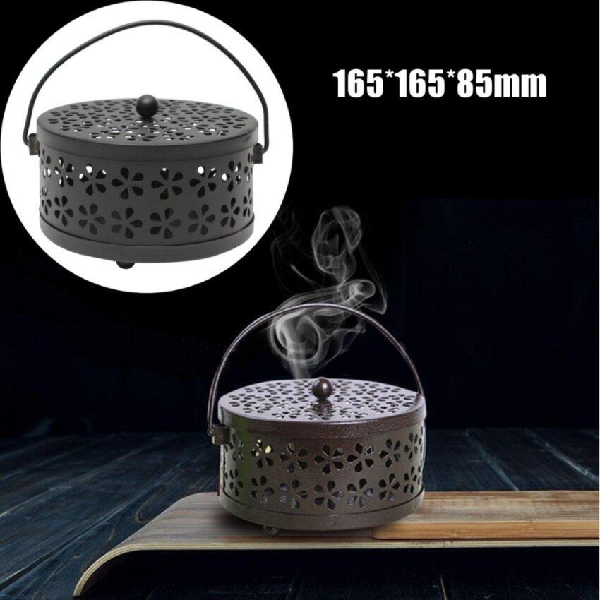 Galvanized Steel Mosquito Mozzie Coil Holder Burner Repellant Home Art Decor - intl ...