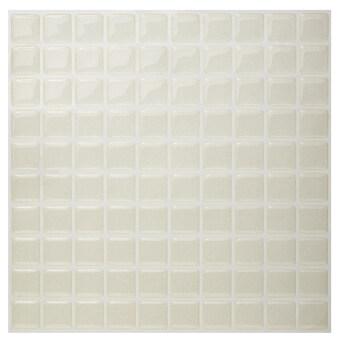 Hanhwa L&C Bodaq D.I.Y Tile Sheet SQP03 Square Style Pack of 5 (Pearl Ivory) (Intl)